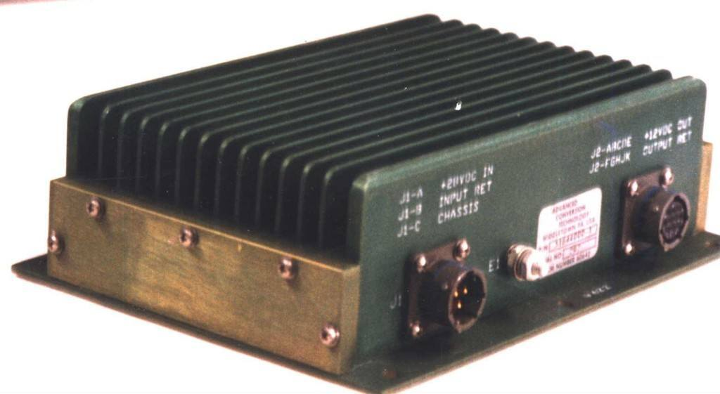 DC-DC Converter Military Power Supply Product #1644