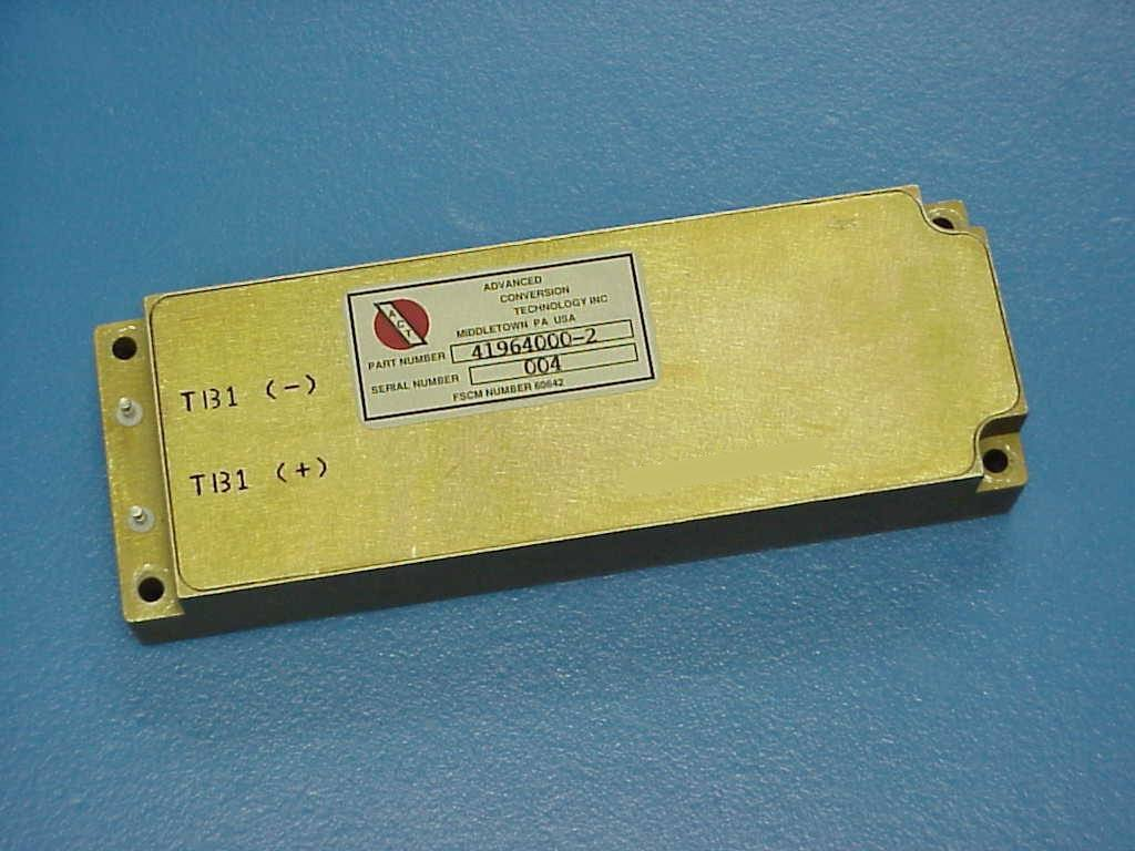 DC-DC Converter Military Power Supply Product #1864